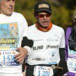 New york 2010 marathon non-voyant