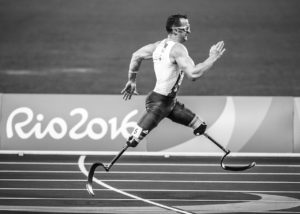 Coureur handicapé