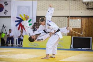 Judo compétition mixte