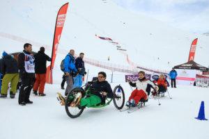 Handi ski alpin compétition