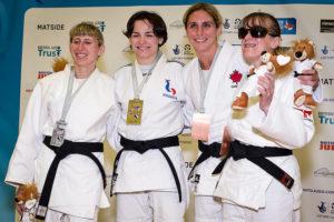Judo médailles femme