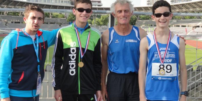 Médaille jeunes athlètes