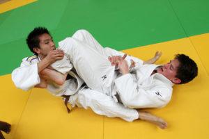 Judo compétition jeunes hommes