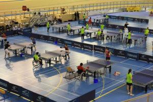 Tennis de table compétition
